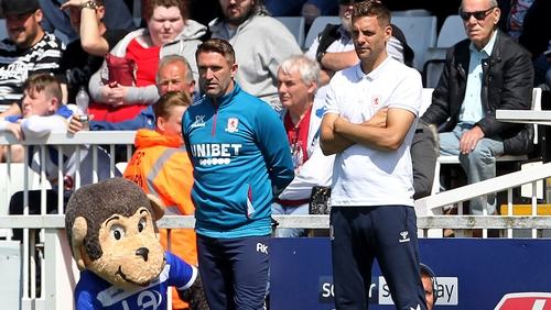 Robbie Keane and Jonathan Woodgate have not enjoyed much success in their maiden season in charge at 'Boro
