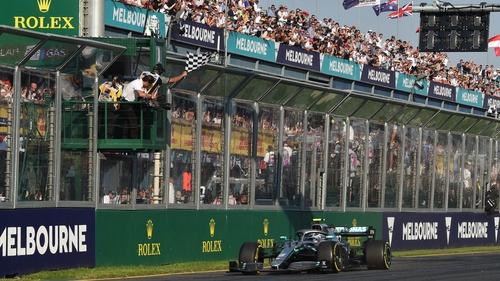 Valtteri Bottas won last year's race at Albert Park