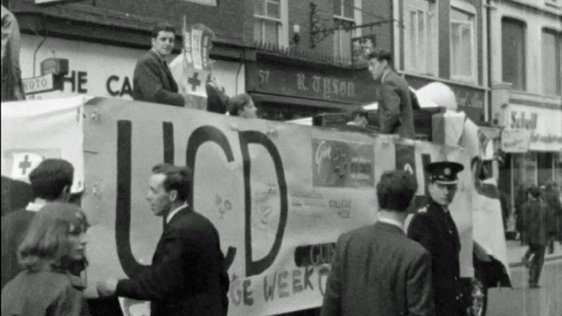 UCD College Week Parade, 1965