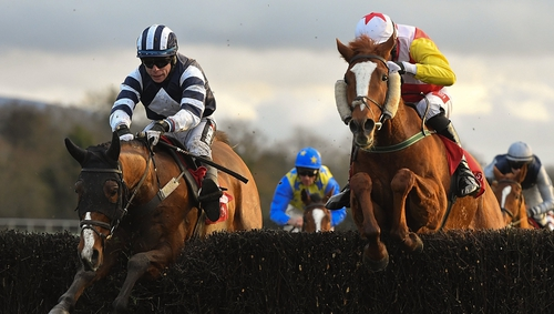 Sé Mo Laoch (right) remains on track for Cheltenham