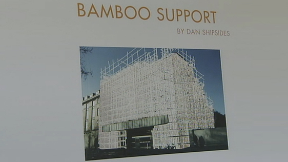 Carlton Cinema to be covered in Bamboo (2000)