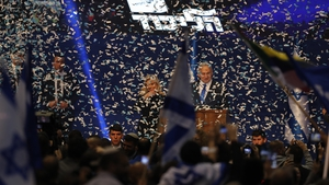 Benjamin Netanyahu's right-wing bloc, which includes ultra-Orthodox Jewish parties, is projected to get 59 seats