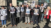 Relatives of those who died in Ballymurphy pictured at the inquests in March last year