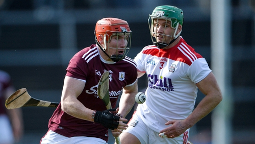Conor Whelan being pursued by Eoin Cadogan