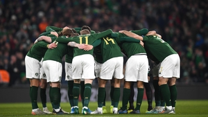 Ireland were due to face Slovakia in Bratislava on 26 March.