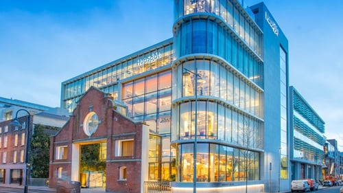 HubSpot has opened a new office building on Sir John Rogerson's Quay in Dublin city centre (Pic: Anthony Woods Photography)
