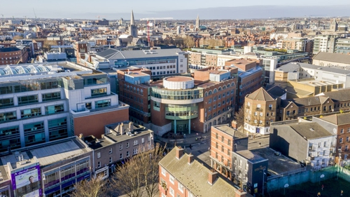 The TU Dublin Aungier Street Campus up for sale for €110m