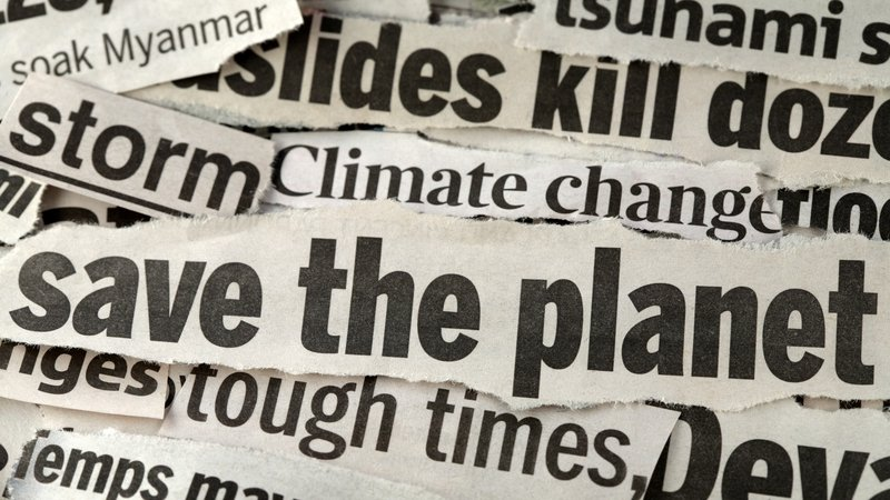 Date from the survey showed that coverage centred on extreme weather events in almost half of all climate-reported media