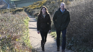 The royal couple took an afternoon stroll in Howth