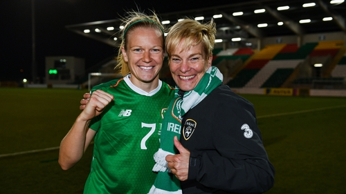 Diane Caldwell and Vera Pauw have their work cut out for them against Germany