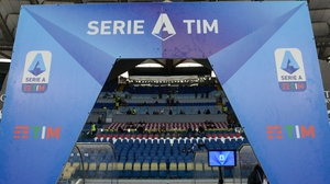 The Italian football federation confirmed in a statement that Serie A would stop until at least 3 April following a government decree issued on Monday.