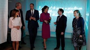 Prince William and Kate arrive at the reception hosted by Tánaiste, Simon Coveney at the Museum of Literature Ireland in Dublin