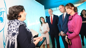 """A first edition copy of James Joyce's novel """"Ulysses"""" was shown to the Duke and Duchess (Pic Julien Behal Photography)"""