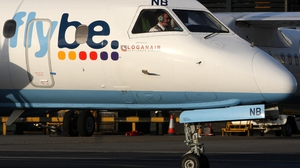 Two of Flybe's routes from Belfast City Airport will now be taken over by Loganair