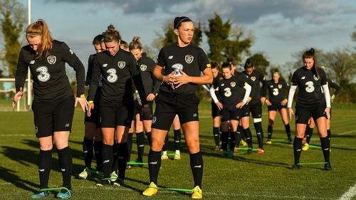 The Irish women's team had to fight for basics like training equipment