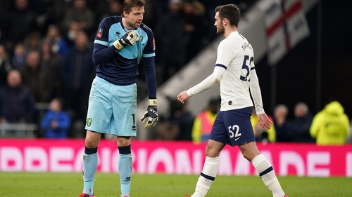 'I haven't seen many penalties from you when I've done my homework' were the stinging words Dutch wit Tim Krul apparently delivered