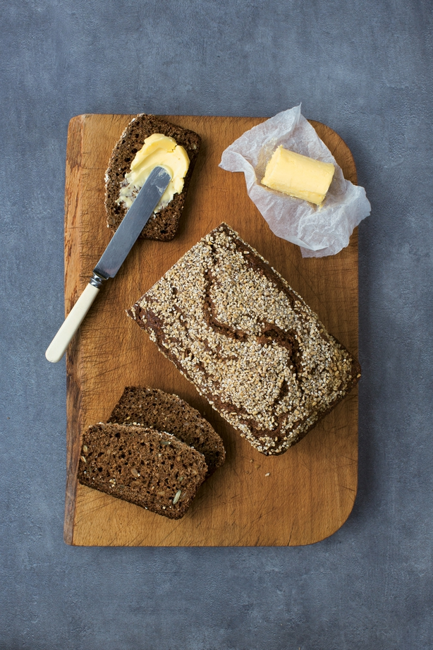 Photo of soda bread from The Irish Cookbook by Jp McMahon. See PA Feature FOOD Irish Cookbook. Picture credit should read: Phaidon/Anita Murphy/Zania Koppe/PA. WARNING: This picture must only be used to accompany PA Feature FOOD Irish Cookbook