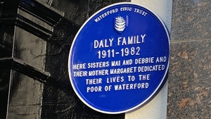 Among the events running alongside the opening was the unveiling of a plaque to the Daly family who ran what was locally called the 'poor man's café'
