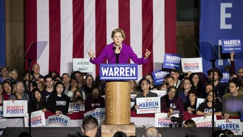 Elizabeth Warren was the last woman among the top tier of Democrat candidates