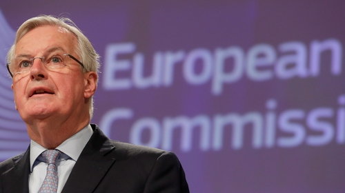 Michel Barnier said he was 'doing well' after he tested positive for Covid-19