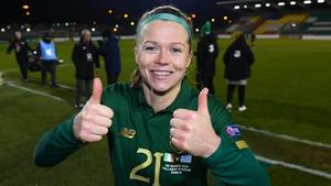 Ruesha Littlejohn was impressive for Ireland