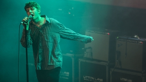 Fontaines DC at the RTE Choice Music Prize. Image: Leah Carroll.