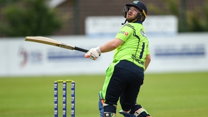 Paul Stirling recorded a knock of 60 from 41 balls