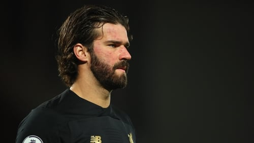 Alisson Becker is the Liverpool first choice goalkeeper