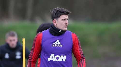 Harry Maguire rolled his ankle in training on the eve of the FA Cup tie against Derby