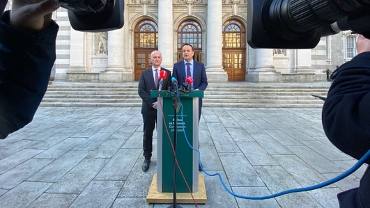 Leo Varadkar reacts to Dr. Holohan's decision to stand down from role