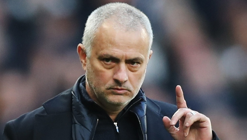 Jose Mourinho's Spurs are on a four-game losing streak