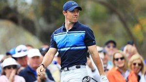 Rory McIlroy remains in the hunt despite a second round 73