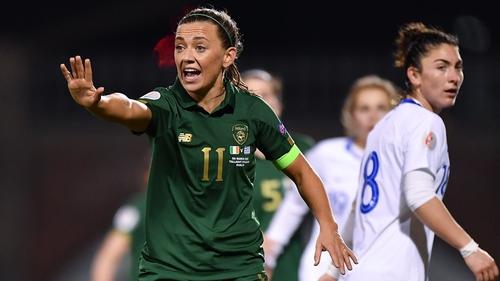 The Ireland captain leading by example on Thursday night at Tallaght Stadium