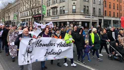 The march was supported by Rise and Solidarity and various activist groups