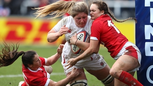 Poppy Cleall notched up three tries