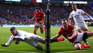 Elliot Daly scored England's second try