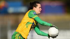 Geraldine McLaughlin struck 1-05 as Donegal beat Cork in Ballyshannon