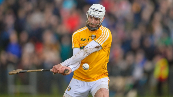 Neil McManus struck one of Antrim's late goals as they secured an unlikely draw in Tullamore