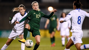 Denise O'Sullivan was one of Ireland's best players against Greece