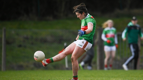 Rachel Kearns was on song for Mayo as they beat Westmeath in Swinford