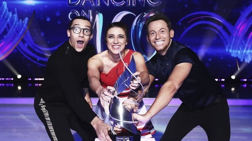 Perri Kiely, Libby Clegg MBE and Joe Swash.