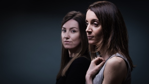 Clare Monnelly and Maeve Fitzgerald in The Mai