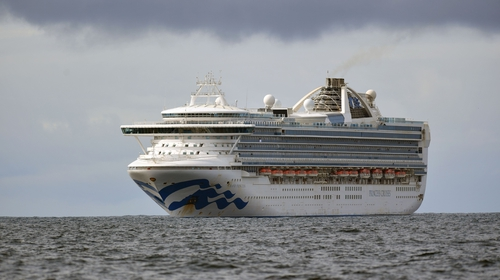 RTÉ News understands there are a number of Irish citizens on board the Grand Princess