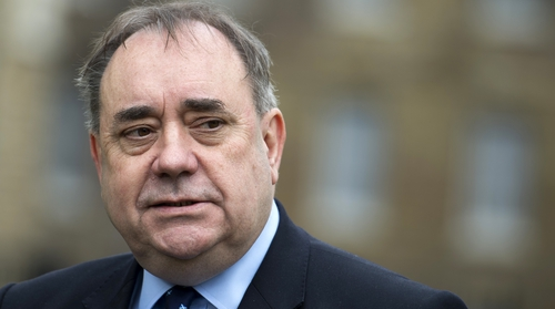Former Scottish First Minister Alex Salmond claimed the charges against him are politically motivated