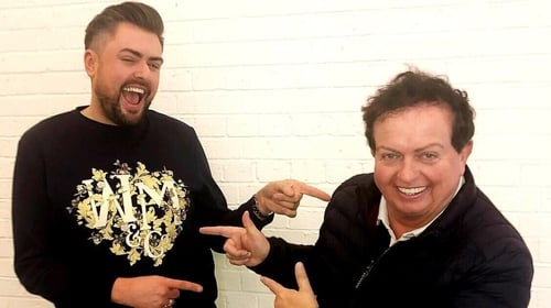 James Patrice and Marty Morrissey