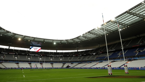 General view inside the Stade de France stadium which is due to host the game if it goes ahead