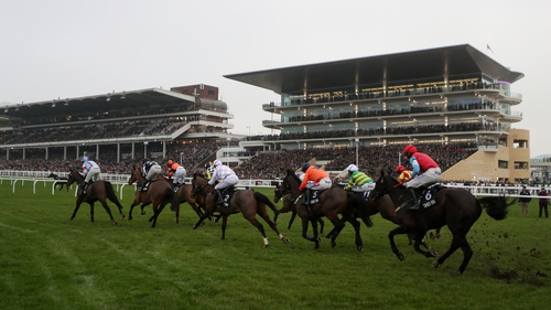 Nicky Martin believes her Cheltenham Festival hope Bear Ghylls won't be seen to best effect until he tackles fences