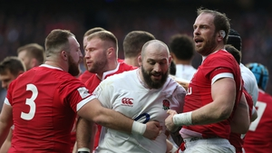Joe Marler is facing a ban over the bizarre incident involving Alun Wyn Jones during England's win over Wales on Saturday