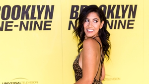 "Actress Stephanie Beatriz arrives for the Fox's ""Brooklyn Nine-Nine""on June 14, 2017."