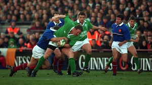 Ireland's win over France in February was the last Six Nations game they played for six seven months